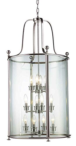 Z Lite 191 12 12 Light Pendant Clear
